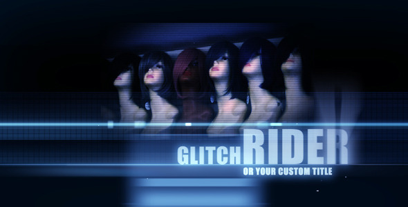After Effects Project - VideoHive Ride On Glitch Titles 1618697