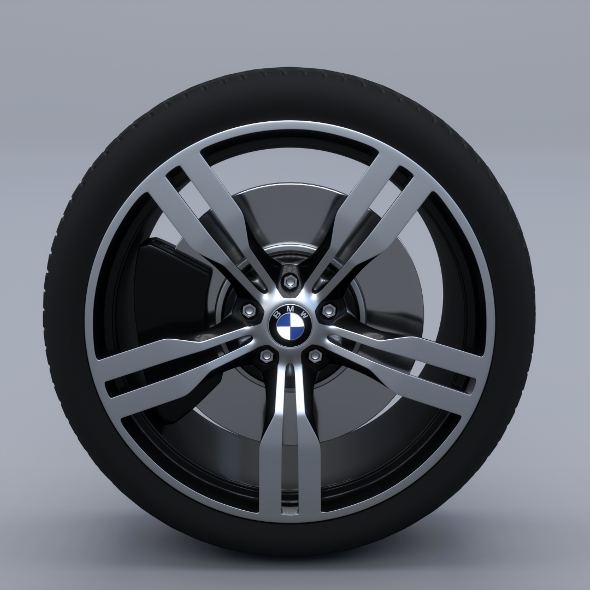 BMW Wheel G11  - 3DOcean Item for Sale