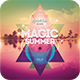 Magic Summer CD Cover Artwo-Graphicriver中文最全的素材分享平台