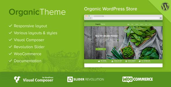 Download ORGANIC | Organic Farm & Food Business WordPress Theme