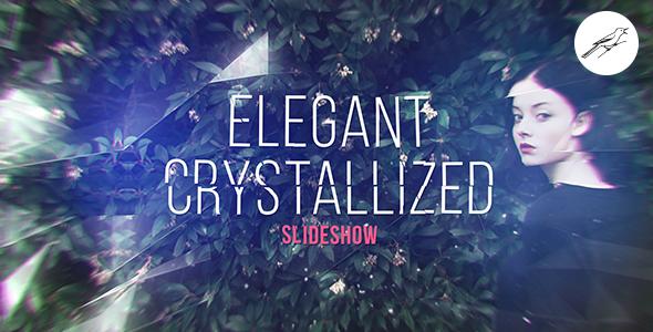 Elegantti kiteytynyt kuvaesitys - Special Events Video Näyttää After Effects Project Files
