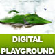 Digital Playground Modern Floating Island Template - ThemeForest Item for Sale