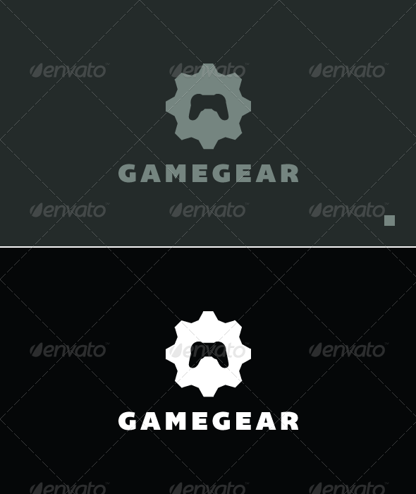 Game Gear - Logo Template - Objects Logo Templates