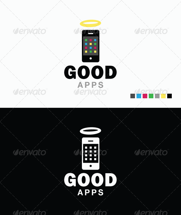 Good Apps Logo Template