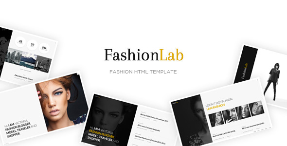 Fashion Lab - Creative and Clean Fashion HTML Template