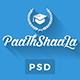 Paathshaala - Education & Courses PSD Template