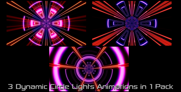 Download Dynamic Circle Lights Pack 02 nulled download