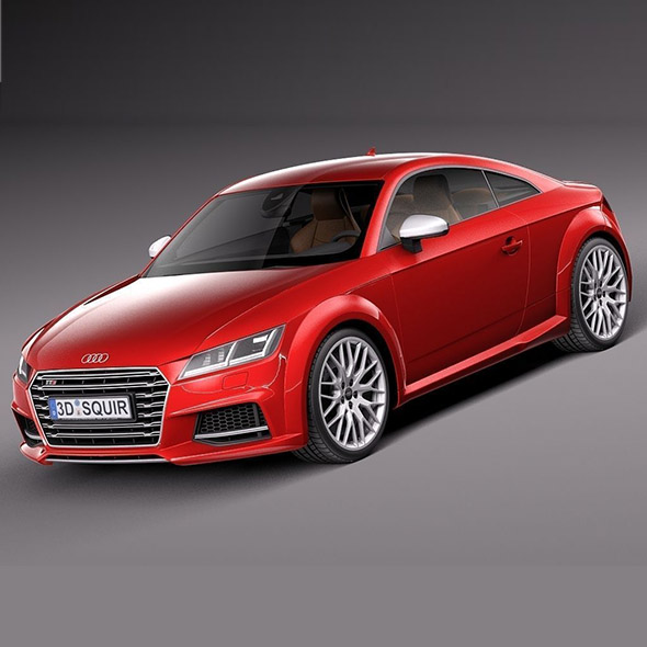 Audi TTS Coupe 2015 - 3DOcean Item for Sale