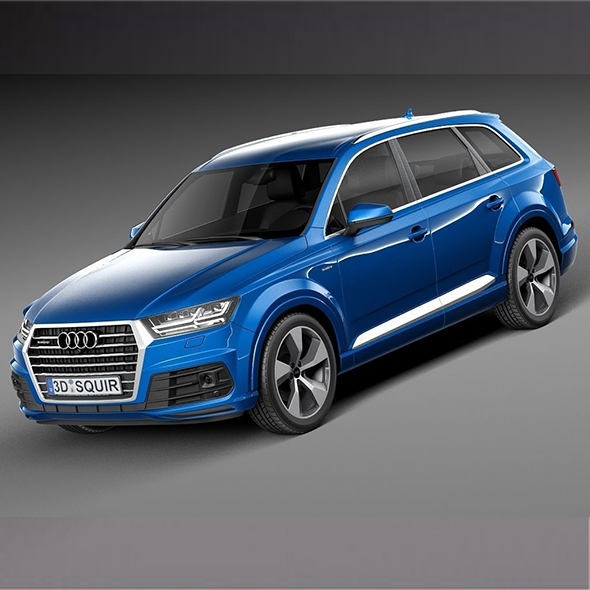 Audi Q7 2016 - 3DOcean Item for Sale
