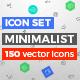 Minimalist 150 vector Icons