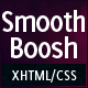SmoothBoosh - HTML/CSS Business & Portfolio Theme