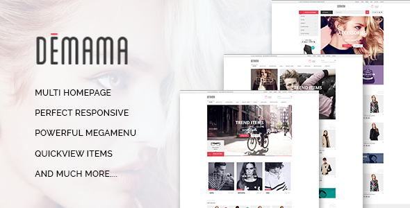 Image of ST Demama - Shopify Template
