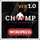 champ gym  fitness yoga wordpress theme