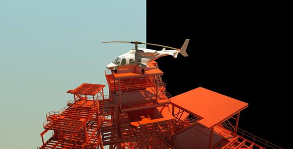 Helikopteri Pad - Industrial Bugs Motion Graphics