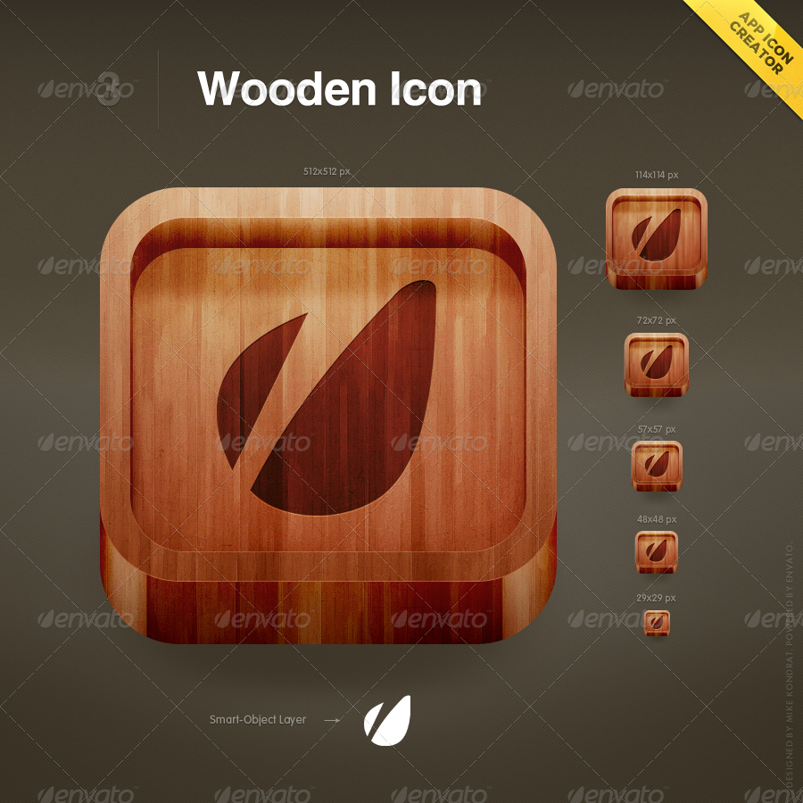 App icon creator by mikekondrat graphicriver for 3d blueprint creator