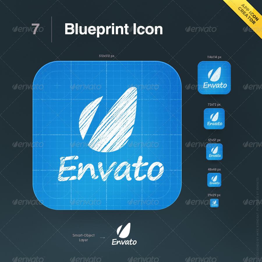 App icon creator by mikekondrat graphicriver for Blueprint creator app