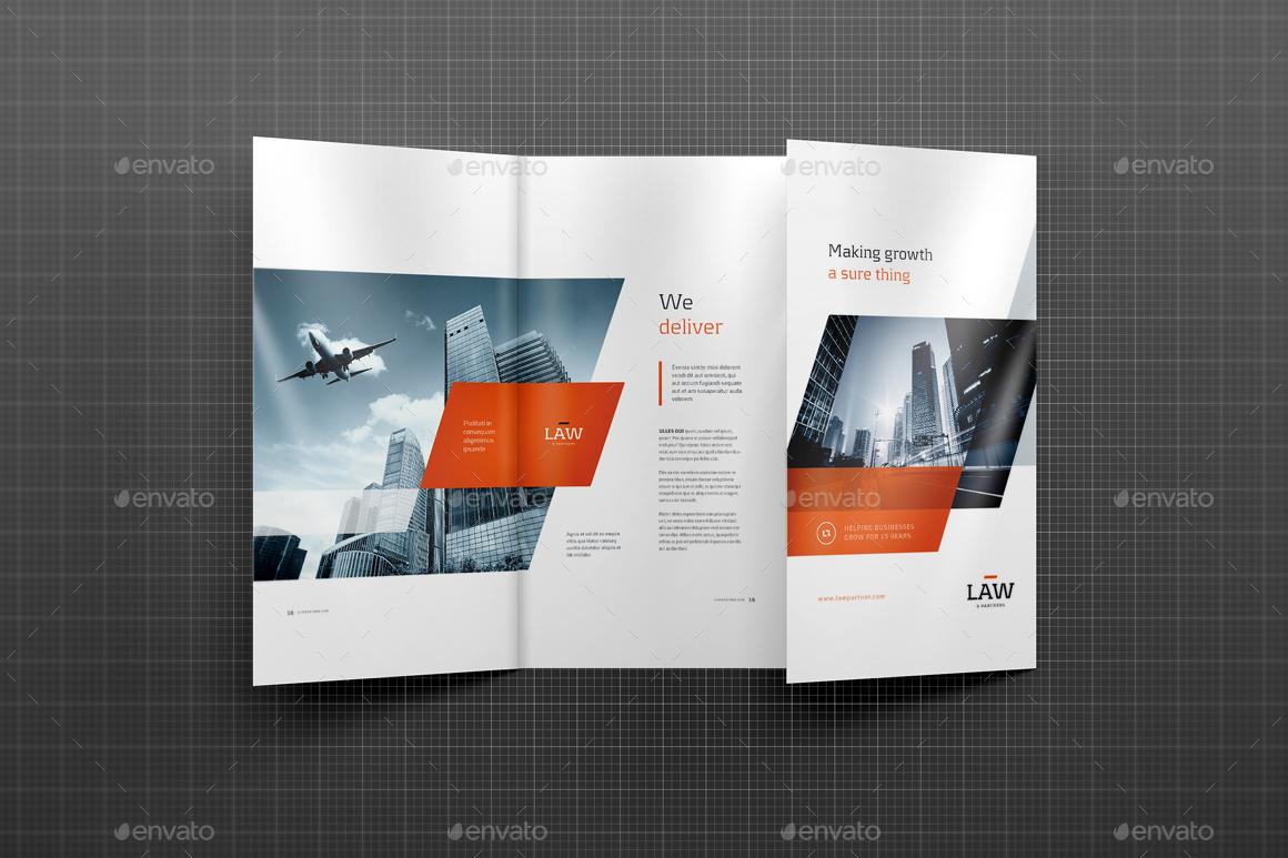 4xDL Double Gate Fold Brochure Mockup 2 by 89PixeL – Gate Fold Brochure Mockup