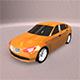 Lowpoly BMW Car