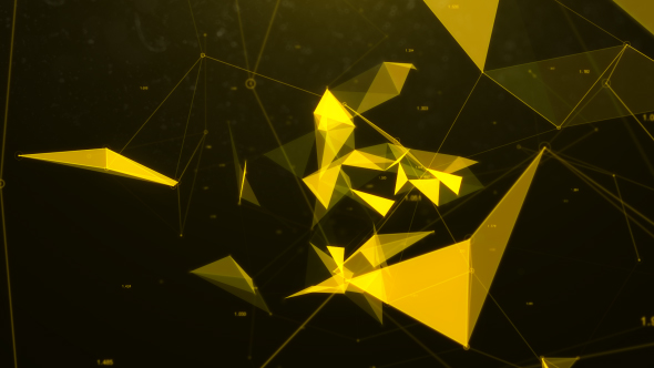 Network Connect - Technology Taustat Motion Graphics