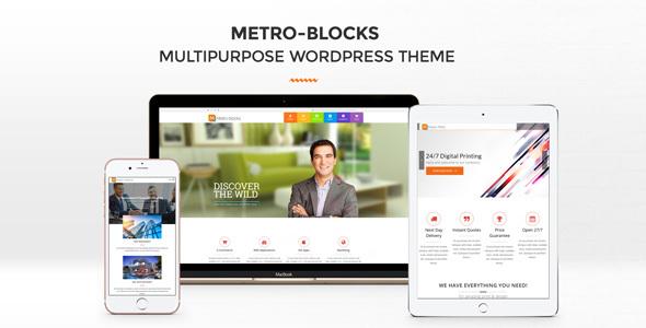 Metro-Blocks - Multi-Business WordPress theme