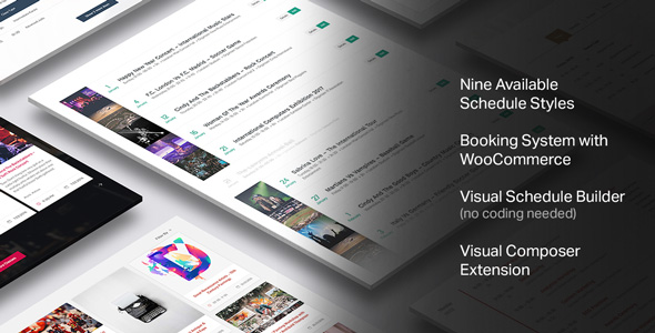 Events Schedule - WordPress Plugin