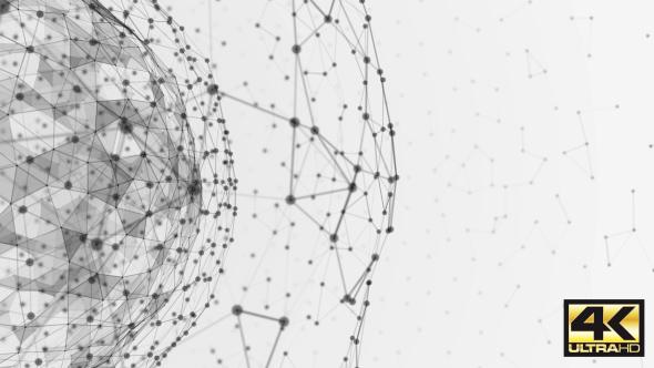 Plexus Sphere - Technology Taustat Motion Graphics
