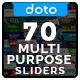Multipurpose Sliders - 70 Designs