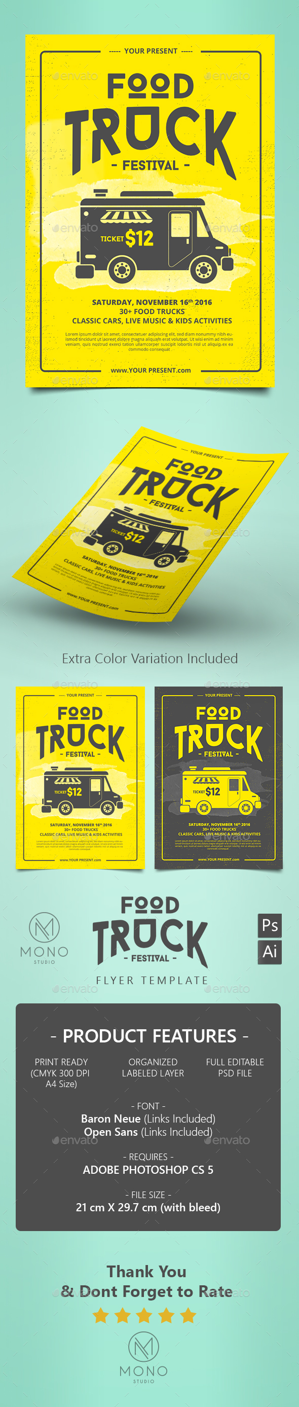Food Truck Flyer / Poster