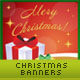 New Year and Christmas Banners - GraphicRiver Item for Sale
