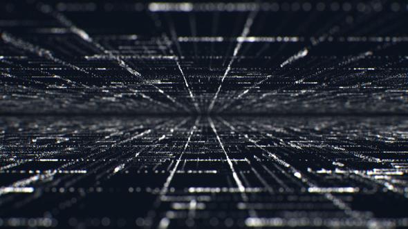 Particle Grid - teknologia Taustat Motion Graphics