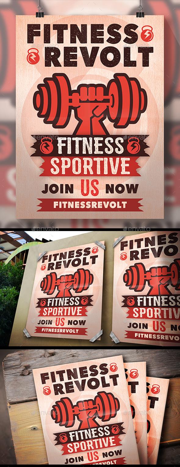 Fitness Revolution Flyer