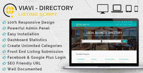 Viavi – Directory Listing Script (Miscellaneous) | Php Updated Scripts