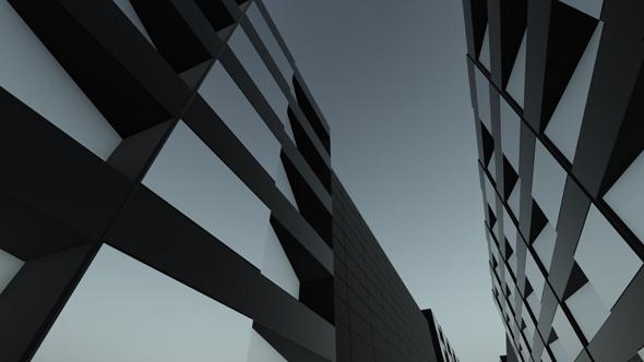 Black Mirror Street - Corporate Taustat Motion Graphics