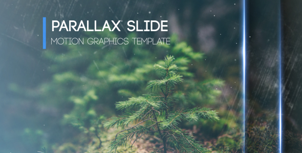 Parallax Slide - Abstract avaajat After Effects Project Files