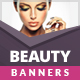 Beauty & Fashion Banner Ad Templates - HTML5 / CSS