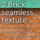 Brick seamless texture