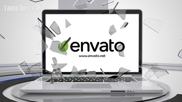 Laptop avaaja AE - Technology avaajat After Effects Project Files