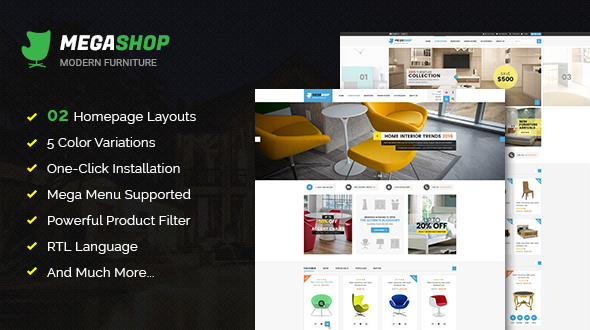 Download Megashop - Responsive Multipurpose OpenCart Theme  nulled download