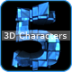 Awesome 3D Characters - GraphicRiver Item for Sale