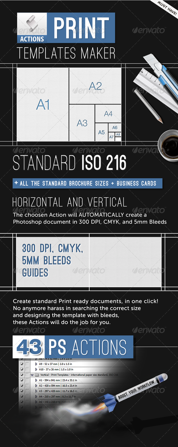 GraphicRiver Print Templates Maker Automatic Bleeds and Size 1462132