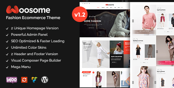 Woosome - Fashion & Lifestyle WooCommerce WordPress Theme