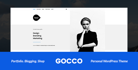 Download Gocco - Portfolio WordPress Theme nulled download