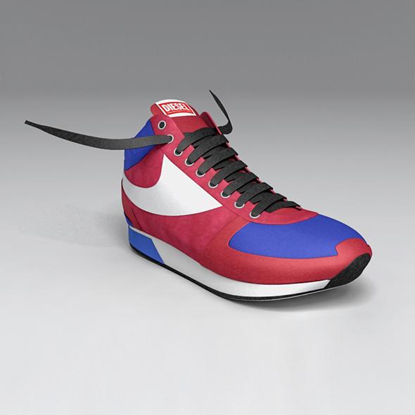 3DOcean Diesel Shoe 16227955