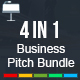 4 In 1 - Business Pitch Keynote Bundle