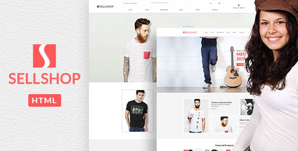 Sell Shop - eCoommerce HTML5 template