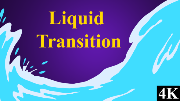 Liquid Transition Pack - Transitions Motion Graphics