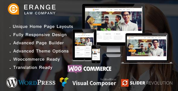 Download Erange- Law Firm WordPress Theme