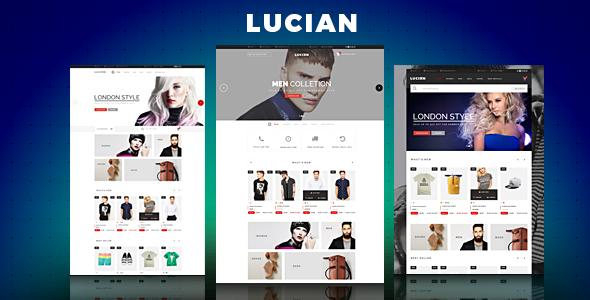 Lucian - Responsive Magento 2 Theme