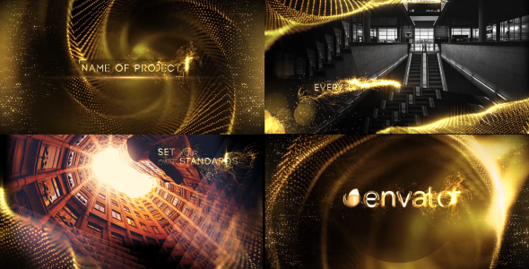Golden avaaja - Special Events avaajat After Effects Project Files