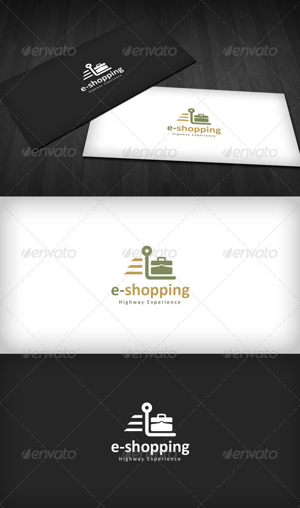 E-Shopping Logo - Symbols Logo Templates